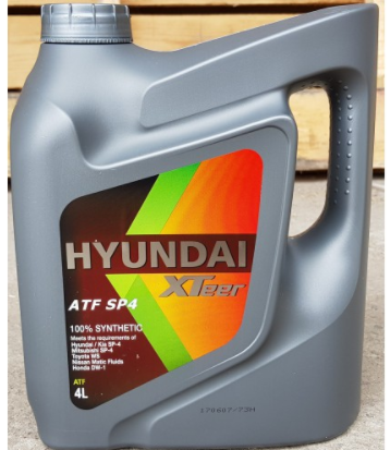 Картинка Масло Hyundai АКПП XTeer ATF SP-4_4л